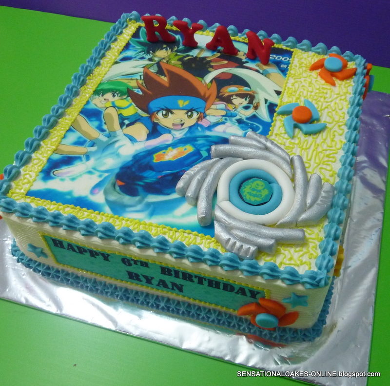 Beyblade Metal Fusion Cake Ideas And Designs
