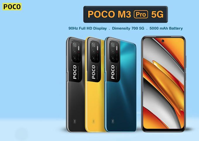 POCO M3 Pro 5G vai revolucionar o mercado dos entrada de gama 5G