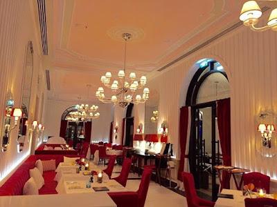 Restaurant near marina Porto Montenegro