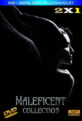Maleficent Colección 2X1 DVD HD LATINO 5.1
