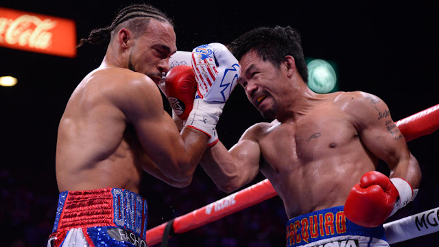 Manny Pacquiao Dominates Keith Thurman For The Win