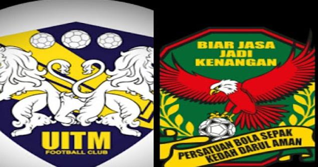 Live Streaming Kedah vs UITM FC Piala Malaysia 1 Ogos 2017