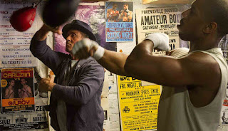 Dunia Sinema Creed Adonis dan Rocky Berlatih Tinju
