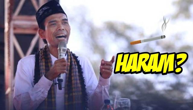 Merokok Itu Halal atau Haram? Ini Jawaban Ustadz Abdul Somad