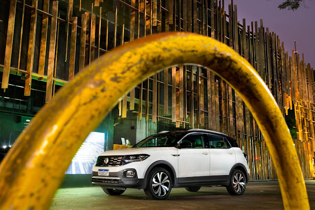 VW T-Cross brasileiro começa a ser exportado à Bolívia