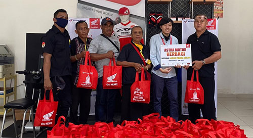 Astra Motor Berbagi Bersama Laskar Pemuda Melayu