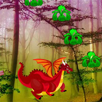 Games2rule Red Dragon Forest Escape