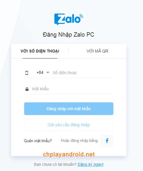 Zalo Web Online - Cách Đăng Nhập Zalo Web Trên Máy Tính b