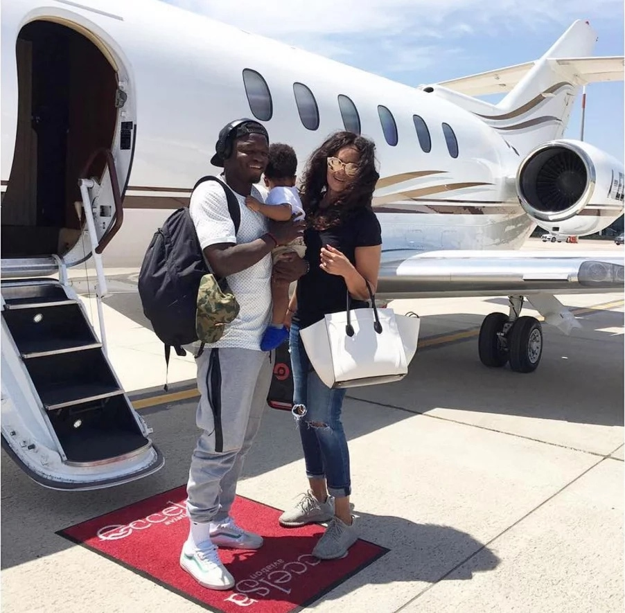 Beautiful Unseen Pictures Of 10 Ghanaian & Nigerian Celebrities Who Fly Private Jet
