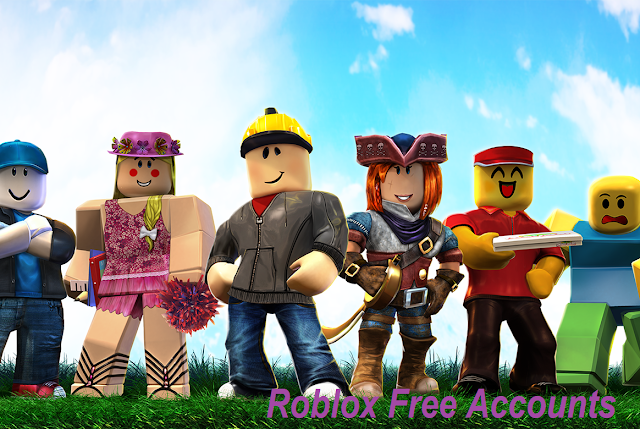 Roblox Free accounts and pass 2019