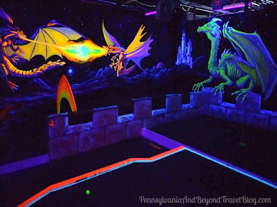 Dragon's Lair Miniature Golf in Wildwood, New Jersey