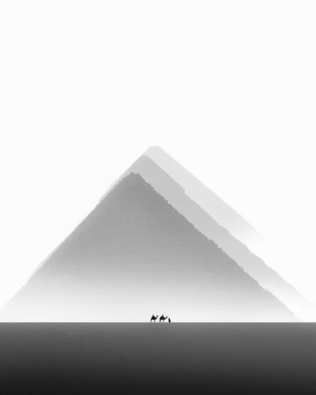 Breathtaking photos of the Pyramids of Giza