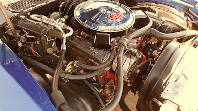 1970 Chevrolet Camaro RS SS 350 LT-1 Engine