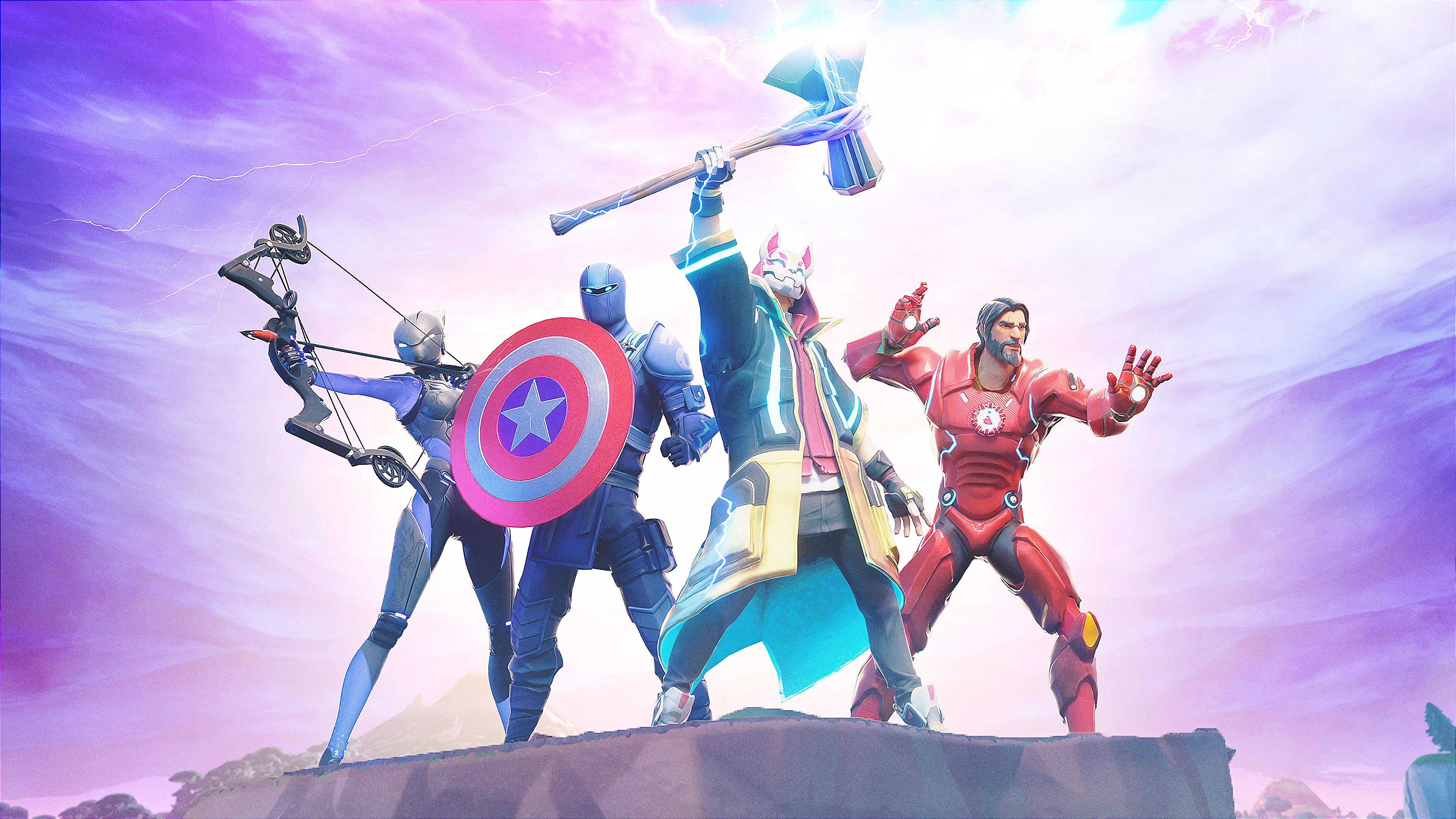 Fortnite Avengers Stormbreaker 4k Wallpaper 283