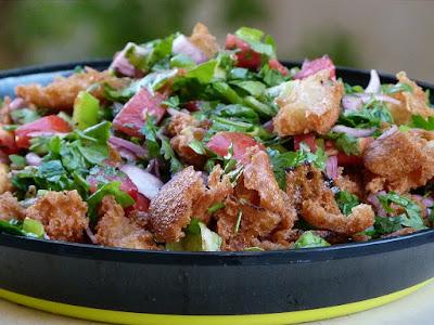 Fattousch Salat Rezept