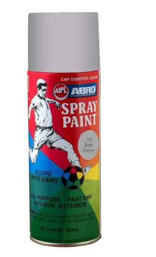 ABRO SP-4 Multipurpose Colour Spray Paint Can for Cars and Bikes
