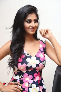 Model Shamili Latest Pictures in Floral Short Dress  0135