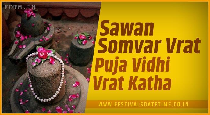 Sawan Somvar Puja Vidhi and Sawan Somvar Vrat Katha