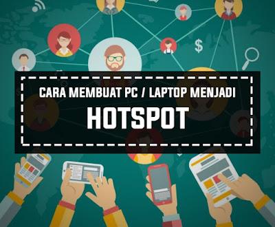 Cara Mudah Membuat Hotspot WiFi Dengan CMD Melalui PC Laptop