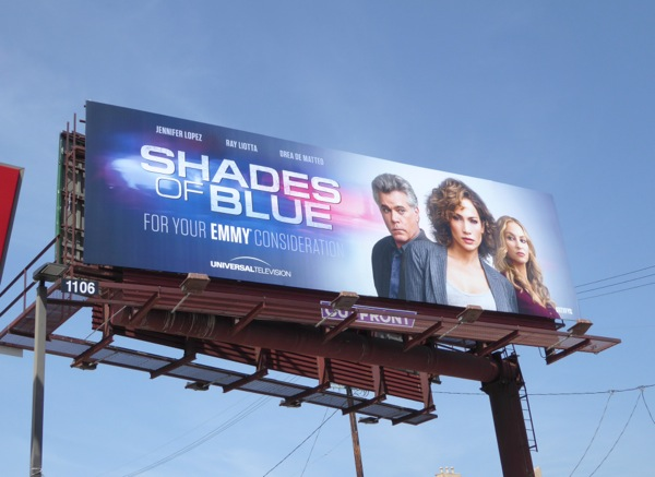 Shades of Blue season 1 Emmy FYC billboard