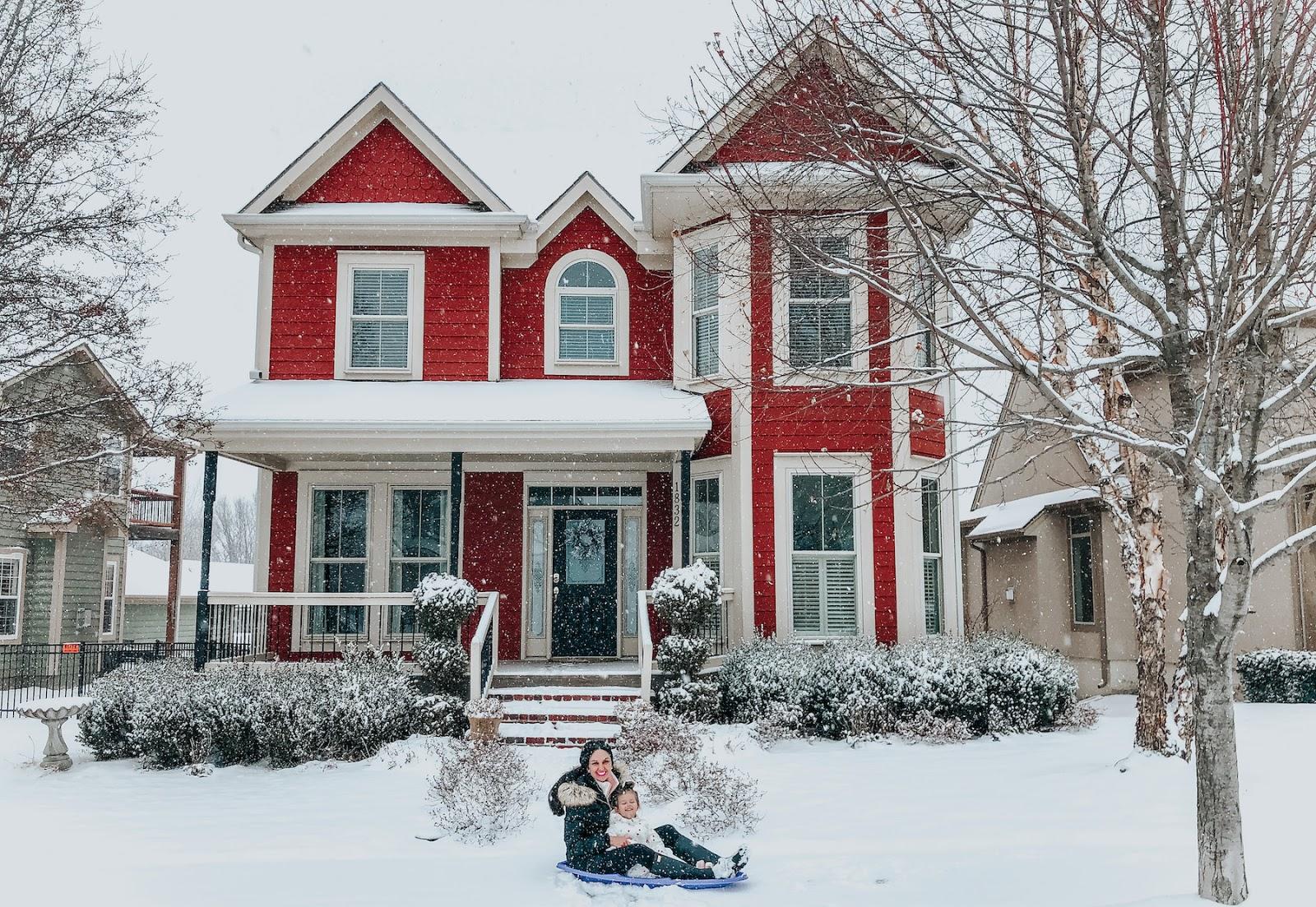 Sugar Cookies + Hot Chocolate + Winter Wonderland