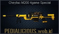 Cheytac M200 4game Special