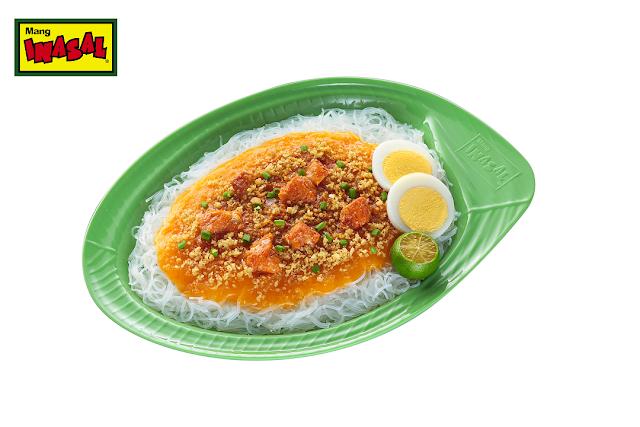 Treat yourself and the family to a satisfying merienda of Mang Inasal Palabok
