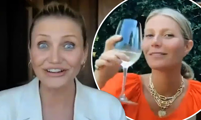 Cameron Diaz reveals why she quit movies in interview with gwyneth paltrow