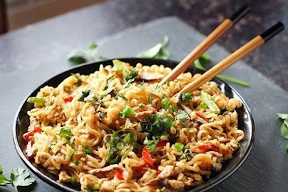Tasty Ramen Noodle Stir Fry Recipe