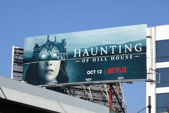 Haunting of Hill House series premiere billboard