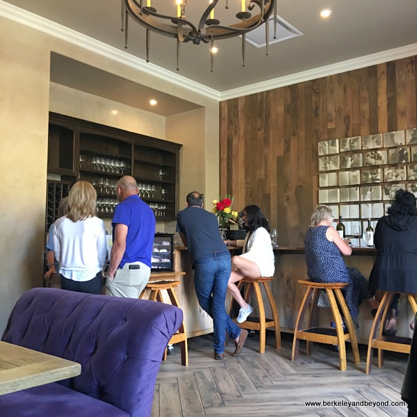 wine-tasting room at Allegretto Vineyard Resort in Paso Robles, California