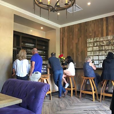 wine-tasting room at Allegretto Vineyard Resort in Paso Robles, California