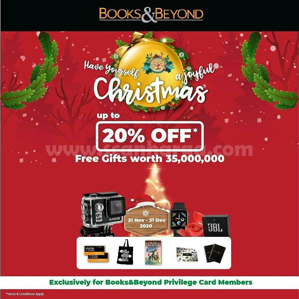 BOOKS & BEYOND Promo Special Christmas! Disc. up to 20% Off*