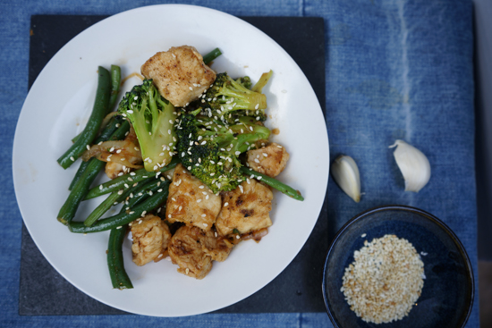 General Tso Chicken With Veggies