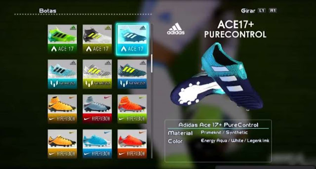 Adidas Ace 17+ Purecontrol Boots PES 2013