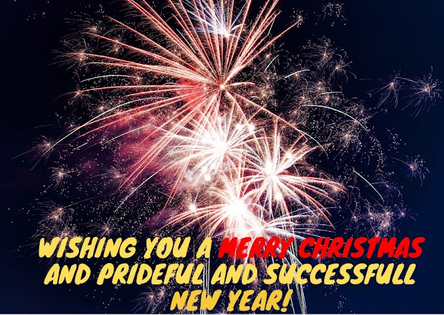 Merry Christmas and New Year Wish
