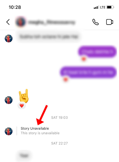 Story unavailable issue on Instagram