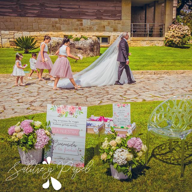 Papelería personalizada boda