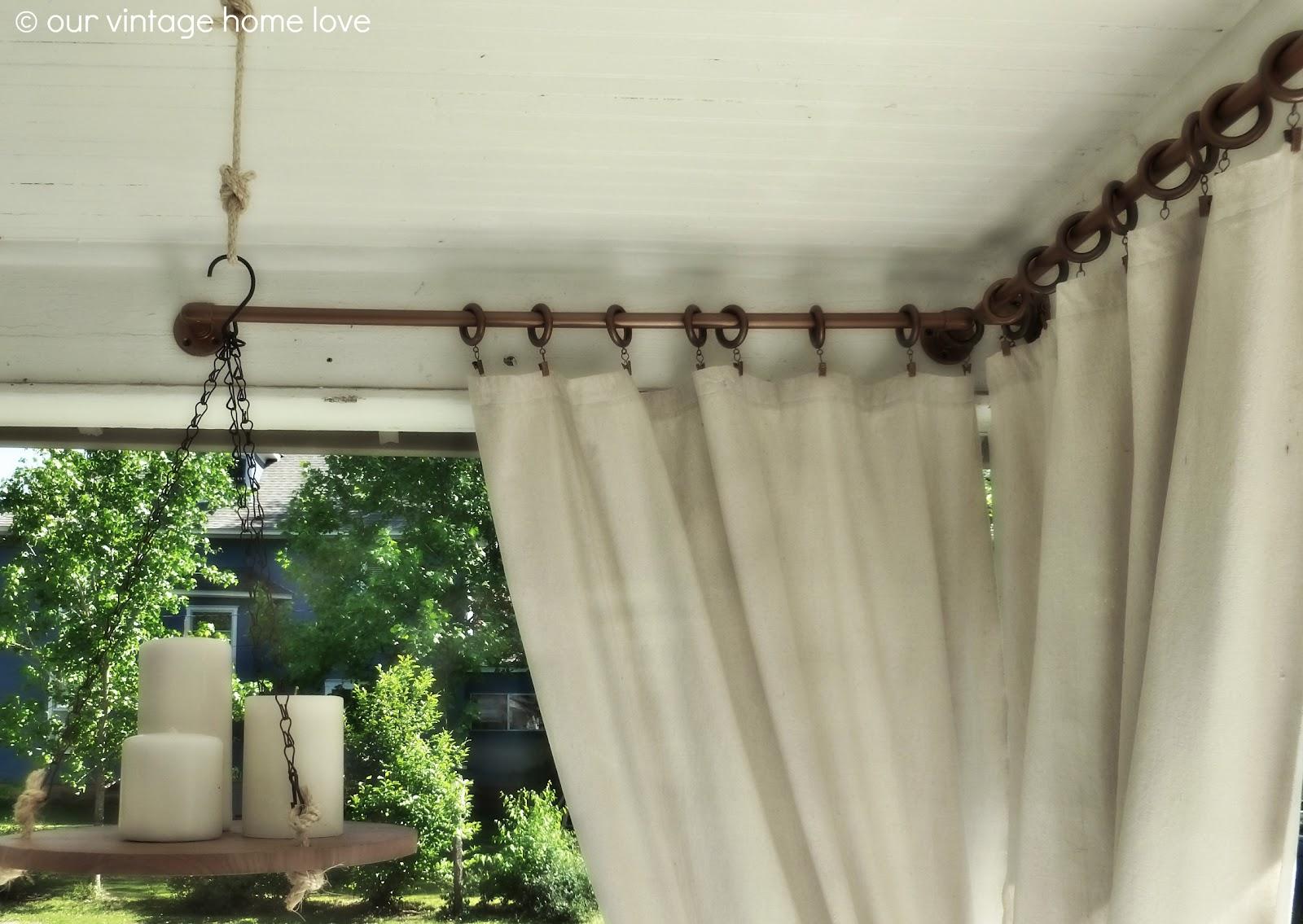 Patio Curtain Rods