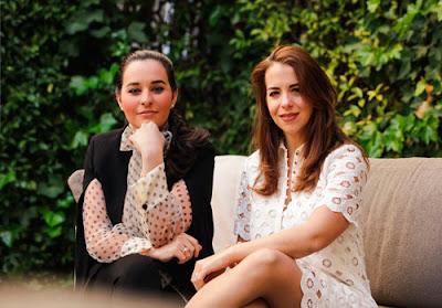 Clarissa Alfonzo y Estrella Rivas de Zacuir