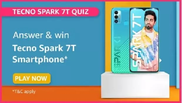 What is the battery capacity of Tecno Spark 7T?