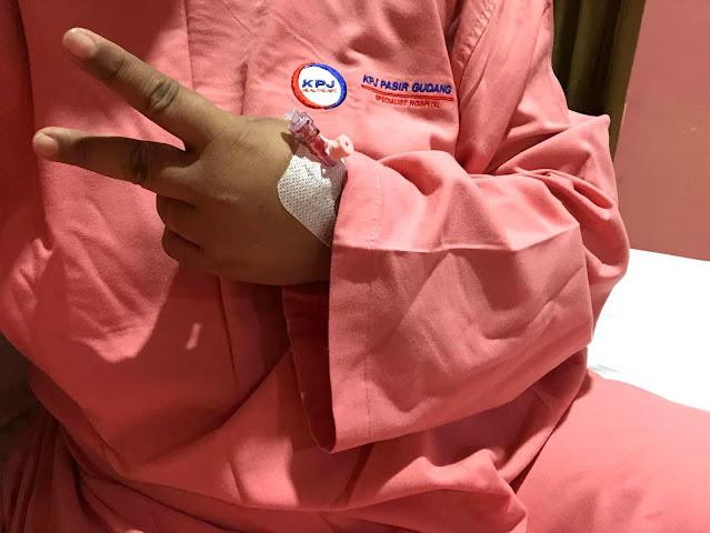 Pengalaman Pertama Jalani Pembedahan Tonsil (Level 4) Di KPJ Pasir Gudang