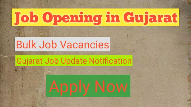 Latest Job in Gujarat, Latest Job Bharti, Gujarat Nokri, Latest Vadodara Job, Gujarat Job vacancy 2021.