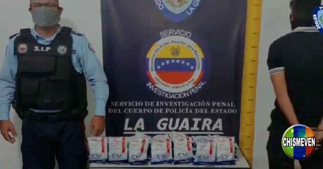 Jefe de Seguridad del MERCAL detenido por robarse unas cuantas bolsas CLAP