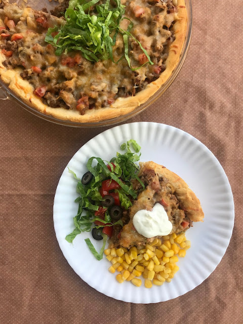 A simple and family friendly dinner that is sure to become a favorite. Turkey taco crescent pie only requires a few ingredients and can be customized to your liking.