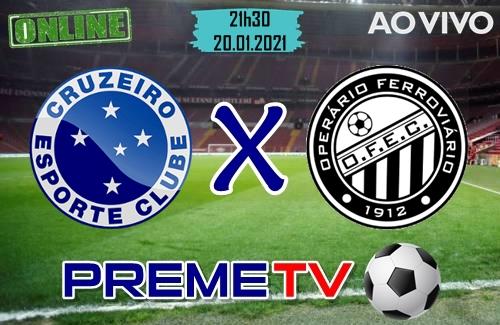 Cruzeiro x Operário-PR Ao Vivo