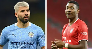 David Alaba and Sergio Aguero to be offered as free agents to Barca presidential candidates