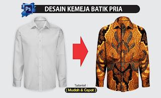 Desain Kemeja Batik Pria
