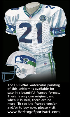 Seattle Seahawks 2000 uniform