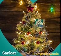 Logo Sorteggio di Natale Sanicat: vinci gratis pack di prodotti